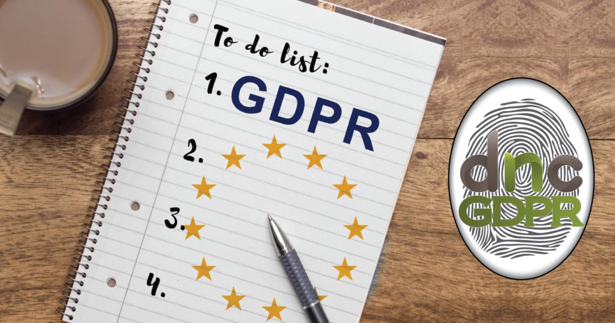 Βήματα προετοιμασίας για GDPR